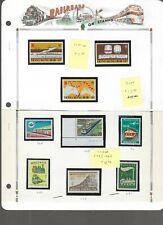 RAILROADS (A)...Hong Kong #358-60 & Korea #293/1063...Mint NH...SCV $13.40