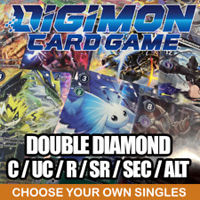 More details for double diamond - digimon card game 2021 (bt06) singles (english tcg)
