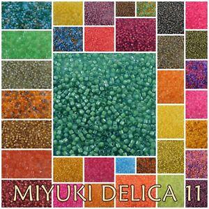 Delica 11/0 Miyuki LUMINOUS Seed Beads #2031-2068