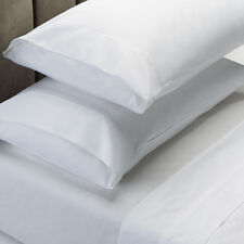 Morgan and Spencer 1000TC Thread Count Cotton Rich Sheet Set Queen White