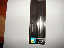 Official Montblanc Mystery Black Medium Ballpoint Pen Refill - Made in Germany