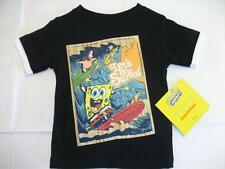 NEW Boys Sponge Bob T Shirt Top Sz 12 Mos Patrick Surfing Nickelodeon Spongebob