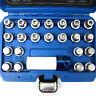 23 pc Wheel Locking Key Set Lug Nut Removal Tamper Proof Spline Bits for VW Audi