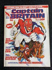 Marvel Captain Britain # 1  - UK Monthly Comic - January 1985 - *RARE*