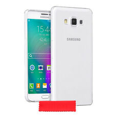 Samsung Galaxy A3 (2016) Ultra Thin Clear Gel Silicone Case Cover + Protector