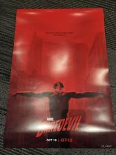 NYCC 2018 Daredevil Season 3 Poster Netflix Limited Panel Exclusive Marvel