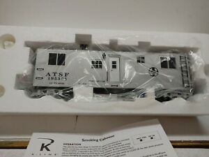 K Line Trains K767- 1051 ATSF MOW BUNK CAR