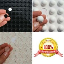 Clear, Black, White 3M RUBBER FEET ~ LARGE Silicone SELF ADHESIVE Stick On Pads