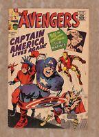 Avengers (1st Series) Golden Record Reprint #4COMIC 1966 VG- 3.5