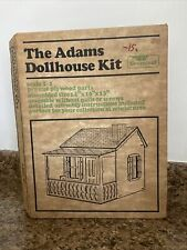 Greenleaf The Adams Dollhouse Kit Vintage Cottage never assembled