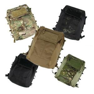 TMC Tactical Vest 2.0 Zip Panel Bag Pouch Back Pack NG Ver 500D Cordura TMC3189