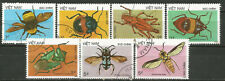Vietnam Scott#1705-1711 (0) , Od, US Made, Gi Issue, Used Insect 1987
