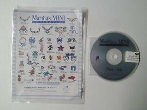 Martha Pullen Martha's Mini Collection Embroidery Designs CD-ROM