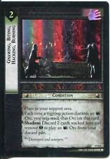 Lord Of The Rings CCG Foil Card EoF 6.U63 Gnawing, Biting, Hacking, Burning