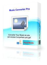 Musica Audio Converter trasforma canzoni brani molti formati SONG/modifica del software DVD