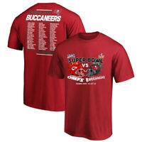 HOT Super Bowl Chiefs VS Tampa Bay Buccaneers Champions 2021 Unisex T-Shirt Gift