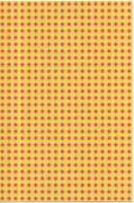 Blotter art Yellow Sunfire Double sided
