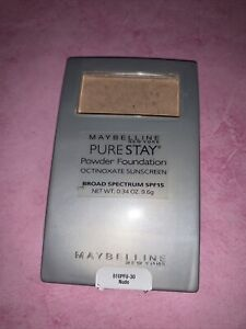 Maybelline Pure Stay Powder Foundation 30 NUDE *RARE* New