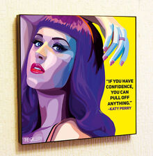 Katty Perry Music Pop Art Painting Decor Print Wall Poster Canvas Decals