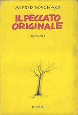 IL PECCATO ORIGINALE - ALFRED MACHARD