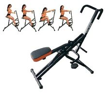 Total Body Crunch Six Pack Core Horse Riding Machine Ab All Muscles With Monitor
