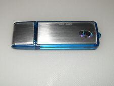 Espia 8GB USB Dictáfono Memory Stick Grabadora De Voz Digital Aluminio Aleación