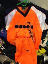 DIADORA CLOTHING T SHIRT /TROUSERS 34/36 INCH AT £22VERY BRIGHT