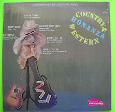 Faron Young Bobby Bare Del Reeves COUNTRY AND WESTERN BONANZA Design LP Shrink