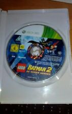 LEGO BATMAN 2 DC SUPER HEROES XBOX 360 GAME-----DISC ONLY
