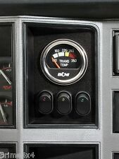 Jeep Cherokee & Comanche 84 - 96 In-Dash - Gauge & 3 LED Rocker Switch Panel