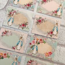 PK 12 PINK//BLUE BUNNIES  EMBELLISHMENT FOR CARDS