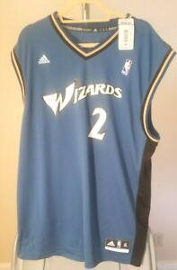 Washington Wizards NBA adidas Classic Blue John Wall #2 XL Jersey