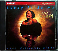 Jessye Norman & John Williams: Lucky to be me Speak Low Kurt Weill Gershwin CD