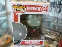 FUNKO POP! GAMES - FORTNITE VINYL FIGURE - LOVE RANGER 432 IN BOX - AU STOCK