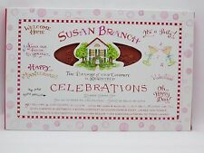 New Susan Branch Celebrations Rubber Stamp Set Multiple Sayings Occasions