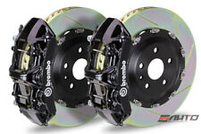 Brembo Front Gt Big Brake Bbk 6piston Black 380x34 Slot Disc Tt Rs 25 12 8j