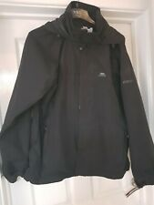 Mens Trespass Waterproof Hooded Coat Size XL Ex Con