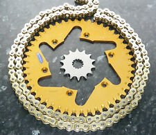 YAMAHA YZF450 CHAIN & SPROCKET KIT YZ450F 47T GOLD REAR 13T FRONT YZF 450 06- 15
