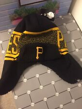 PITTSBURGH PIRATE WINTER HAT WITH EAR FLAPS NEW