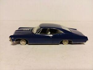 1967 CHEVY IMPALA BUILT MODEL CAR FOR  PARTS OR RESTORE 1:24 1:25 AMT MPC