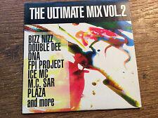 The Ultimate Mix Vol.2 [CD] Cardsleeve ZYX 1991 FPI Project Plaza M.C. Sar Kado