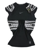 NIKE Pro Hyperstrong Targeted Impact Compression Football Top X-Large Black