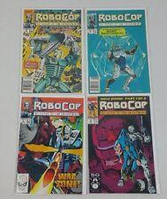 Lot of 4 Marvel Comics Robocop # 2, 4, 6, 18 VF NM Alan Grant Movie