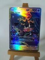 Ultra Charizard Blastoise and Venusaur Proxy Custom Pokemon Card in Holo Glurak