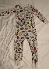 Hanna Andersson 90 3T Sleeper Organic Pajamas Skateboarding Dogs, Boys Unisex