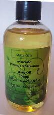 Pure Avocado Oil Carrier Oil 100ml Cold Pressed Natural Oil Persea Gratissima