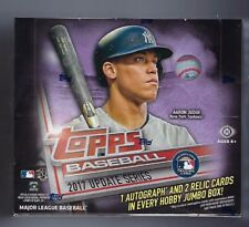 2017 Topps Update Series Sealed Jumbo Hobby Box - 3 Hit Per Box