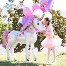 Unicorn Party Supplies 3D Girls Birthday Theme Party Decoration Set