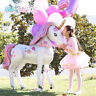 Unicorn Party Supplies 3D Girls Birthday Theme Party Decoration Set