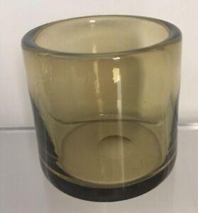 An original Per Lutken small Holmegaard glass Vase, Scandinavian Design